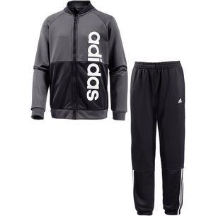 adidas Trainingsanzug Kinder grau/schwarz