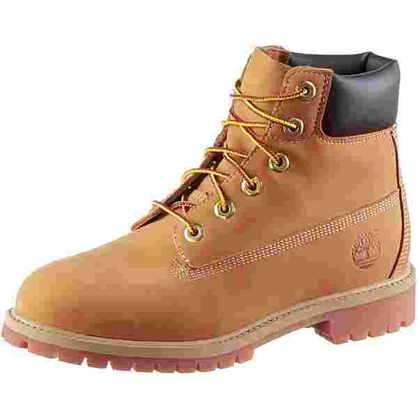 TIMBERLAND 6 Inch Premium Junior Boots Damen wheat nubuck
