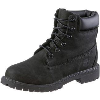 TIMBERLAND 6 Inch Junior Boots Damen black nubuck
