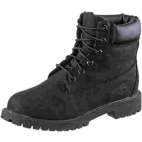 Timberland 6 Inch Junior Boots Damen Black Nubuck Im