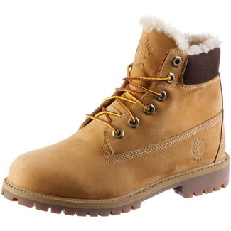 9db4c732ca1d5a TIMBERLAND 6 Inch Junior Boots Damen wheat nubuck