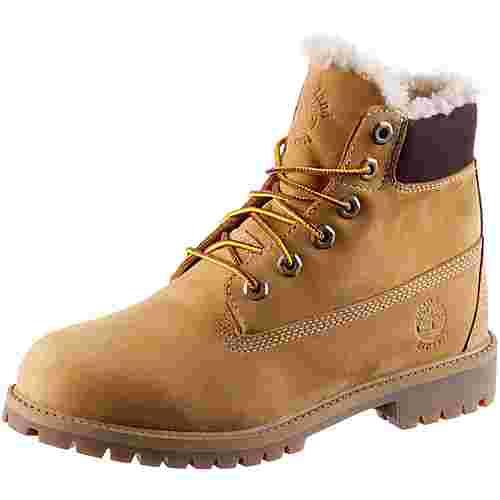 TIMBERLAND 6 Inch Junior Boots Damen wheat nubuck