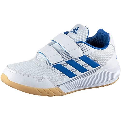 adidas AltaRun Hallenschuhe Kinder weiß/blau im Online Shop von SportScheck  kaufen