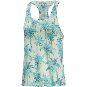 Roxy Mex Tube Washed Palm Tanktop Damen weiß/mint