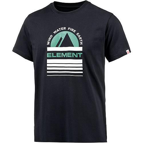 Element Apex Printshirt Herren navy