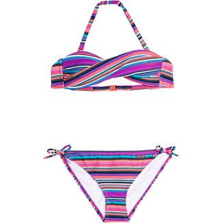 Protest Bikini Set Kinder bunt