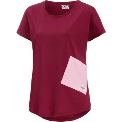Colour Wear Holk T-Shirt Damen rot