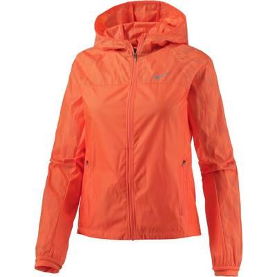 Nike Shield Flash Hooded Racer Laufjacke Damen orange