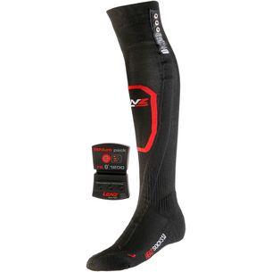 Lenz Lithium Pack rcB1200 Skisocken schwarz/rot