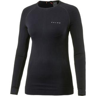 Falke Skishirt Damen schwarz
