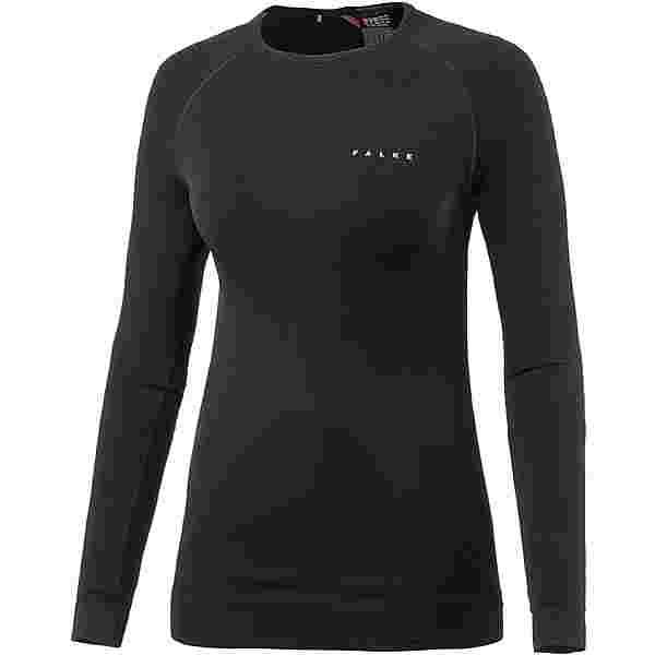 Falke MAXIMUM WARM Skishirt Damen schwarz