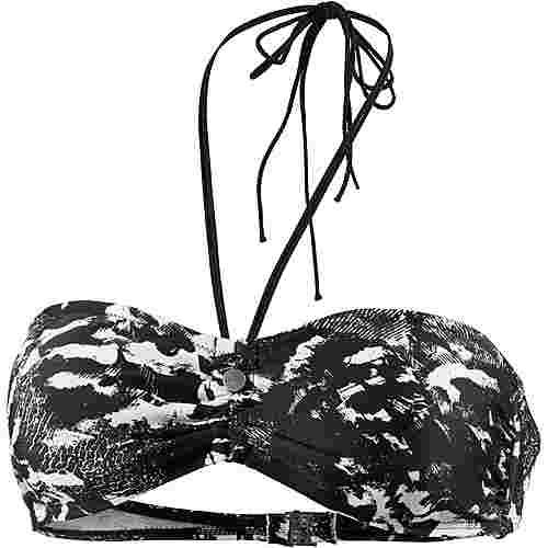 Brunotti Adella Bikini Oberteil Damen schwarz/weiß