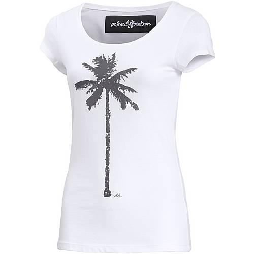 WLD The Palm T-Shirt Damen weiß