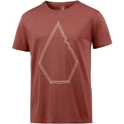 Volcom Drew T-Shirt Herren rot