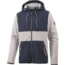WLD Killy Billy Fleecejacke Herren grau/blau