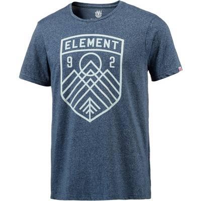 Element Bern Printshirt Herren blau