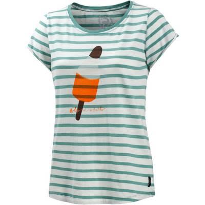 Alprausch Ragetä T-Shirt Damen weiß/oliv