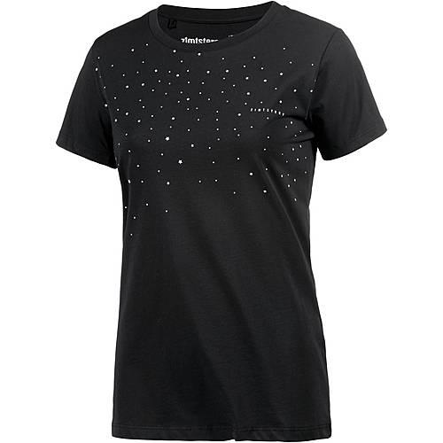 Zimtstern Aztro Printshirt Damen schwarz