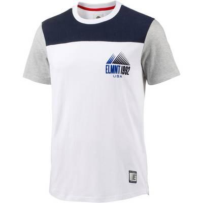 Element Walsh T-Shirt Herren weiß/blau
