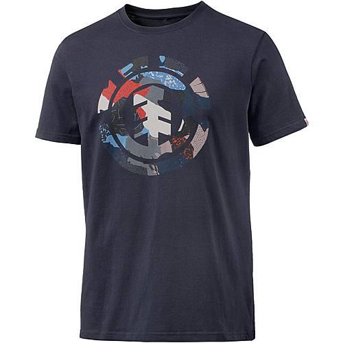Element Cut Out Icon Printshirt Herren navy