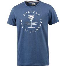Forvert Populus Printshirt Herren blau
