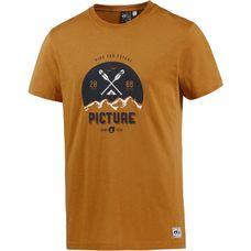 Picture Rico Printshirt Herren orange