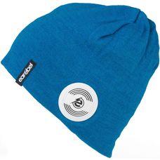 earebel Bluetooth Kopfhörer Beanie Sport Terrey Beanie blau