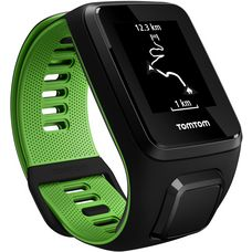 TomTom Runner 3 Cardio Sportuhr schwarz/grün