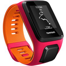 TomTom Runner 3 Sportuhr rot/orange