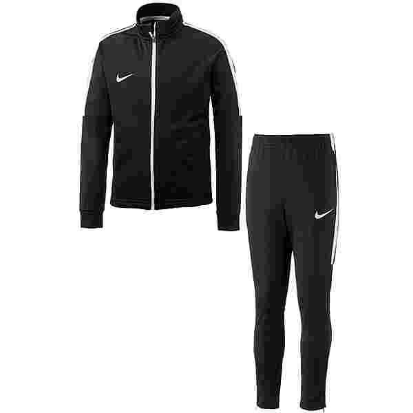 Nike Academy Trainingsanzug Kinder schwarz-weiß