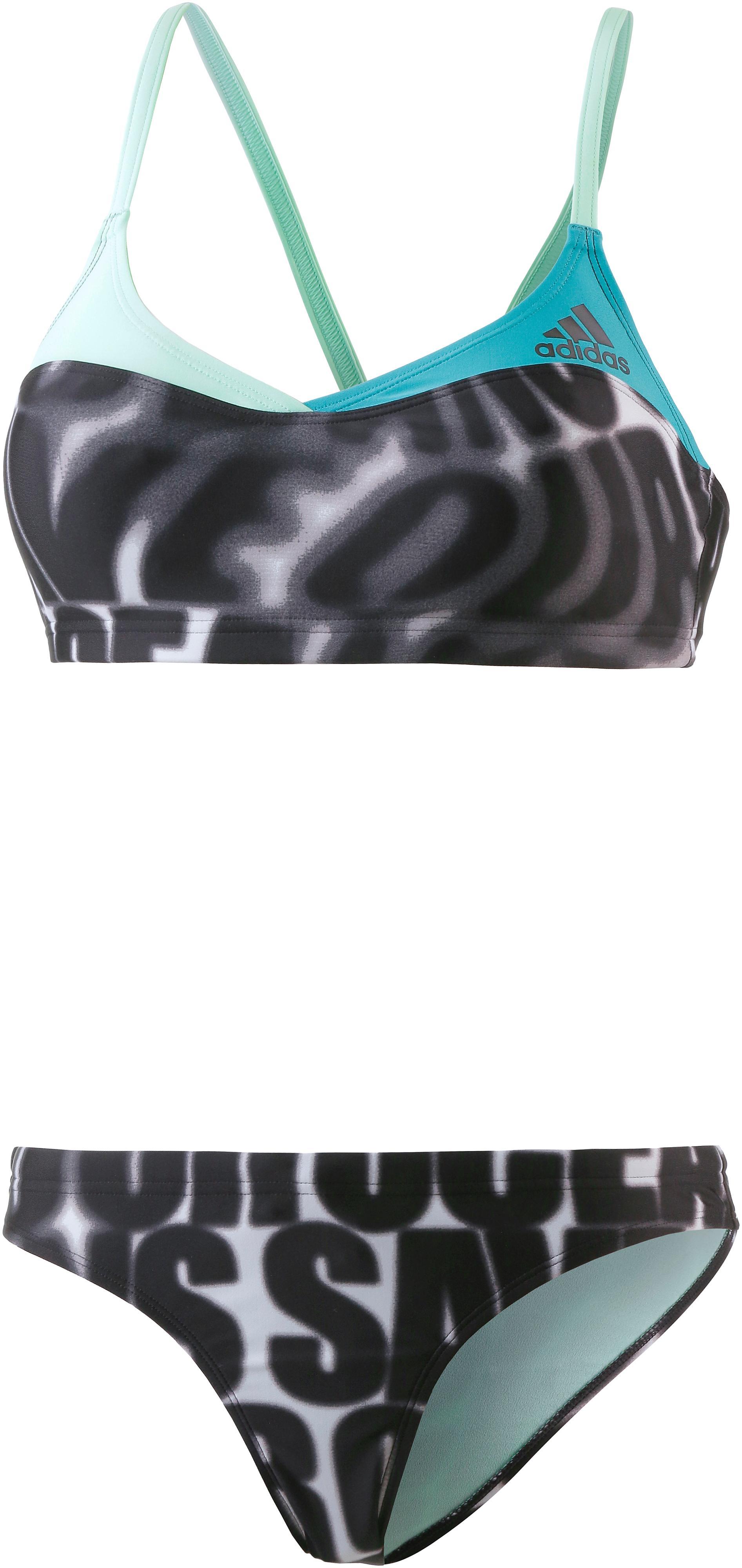 adidas Bikini Set Damen schwarz/weiß/blau im Online Shop von SportScheck  kaufen