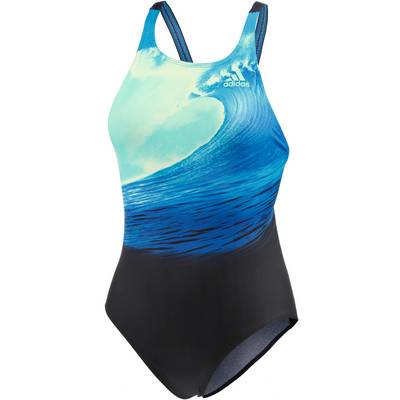 adidas Parley for the Oceans Badeanzug Damen blau