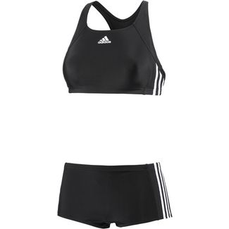 adidas Bikini Set Damen schwarz/weiß