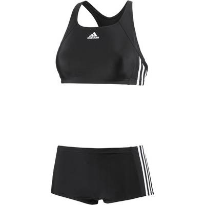 adidas Bustierbikini Damen schwarz/weiß