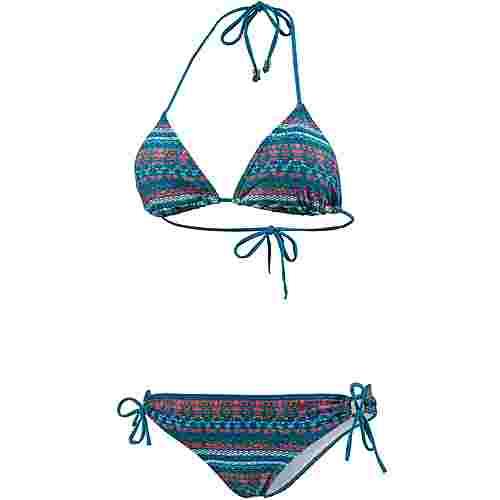 Protest Ale Bikini Set Damen blau/bunt