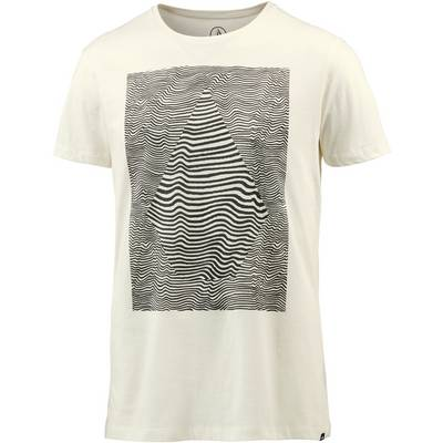 Volcom Vibration Printshirt Herren weiß