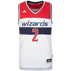 adidas Washington Wizards Wall Swingman Basketball Trikot Herren weiß / rot / blau