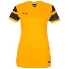 Nike Trophy II Fußballtrikot Damen gold / schwarz