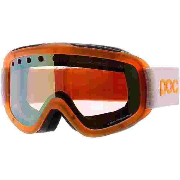 POC Iris Stripes Skibrille orange-weiß