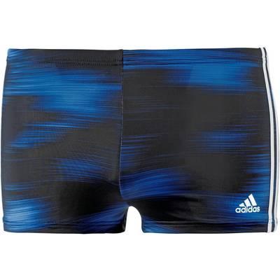 adidas Kastenbadehose Herren schwarz/blau