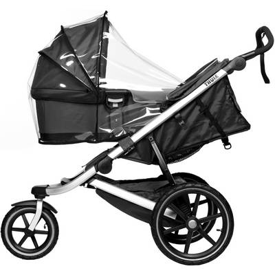 Thule Rain Cover Bassinet Regenhülle transparent