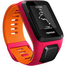 TomTom Runner 3 Cardio+Music Sportuhr rot/orange