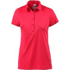 Columbia Zero Rules Poloshirt Damen rot