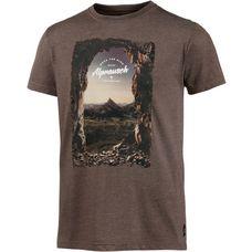 Alprausch Into The Alps T-Shirt Herren braun