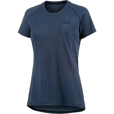 Jack Wolfskin Drynetic Athletic Funktionsshirt Damen blau