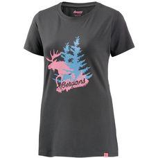 Bergans Elk Printshirt Damen graphit