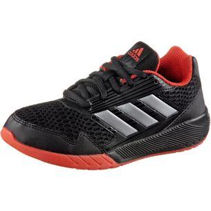 adidas AltaRun Hallenschuhe Kinder schwarz/rot