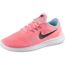 Nike Free Laufschuhe Kinder apricot