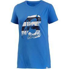 Bergans Forest Printshirt Damen blau