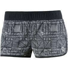 Roxy Endless Summer Badeshorts Damen schwarz/weiß